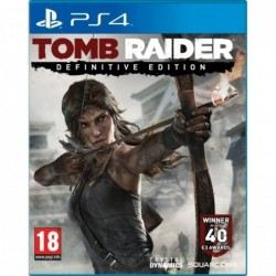 Tomb Raider Definitive Edition - PS4 By Square Enix