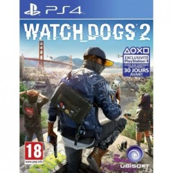 Watch Dogs 2 - PS4 By Ubisoft